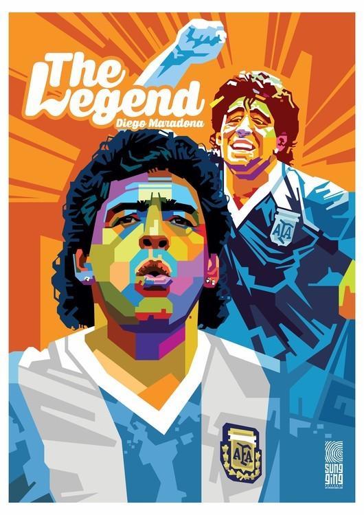 İngilizce yazı- Efsane Maradona.JPG