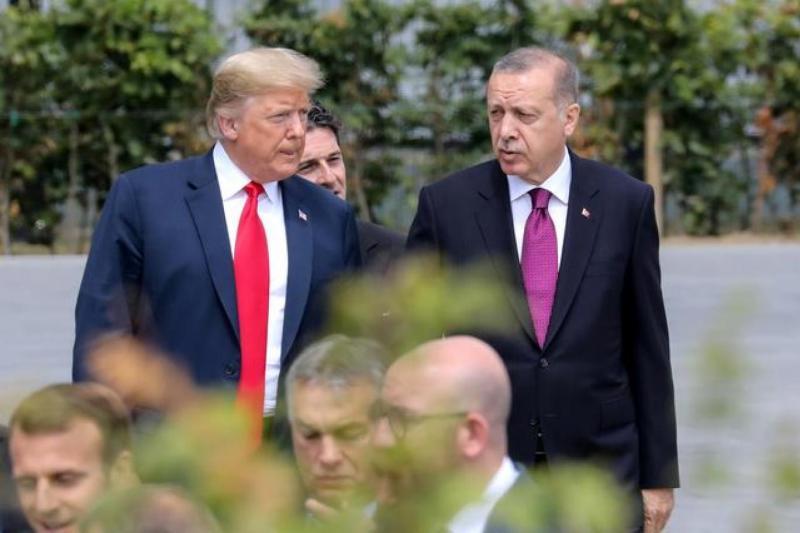 Trump Erdoğan Reuters