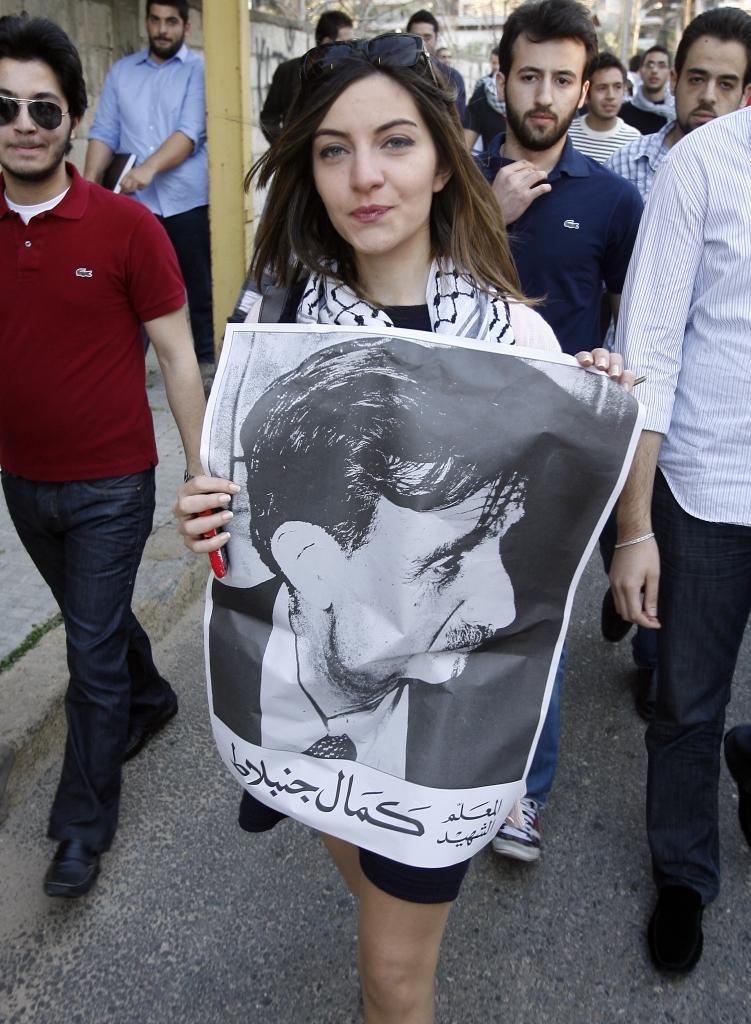 Katledilen Kemal Canbulat'ın anısına yürüyüş. .jpg