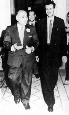 Kemal Canbulat Lübnanlı Sünni başbakan ve işadamı Saib Selam ile.jpg