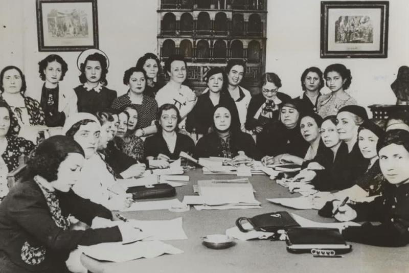 Mısırlı kadın hareketi öncüleri.jpg