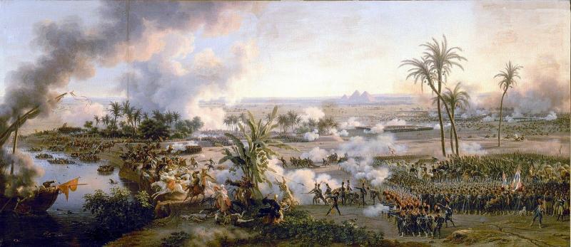 Piramitler Savaşı-yapan Louis François, Baron Lejeune-1808.jpg