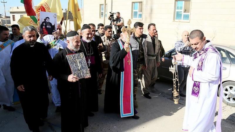 Iraklı Hristiyanların bir kısmı IKB'ye sığındı, bir kısmı ise Avrupa'ya göç etti