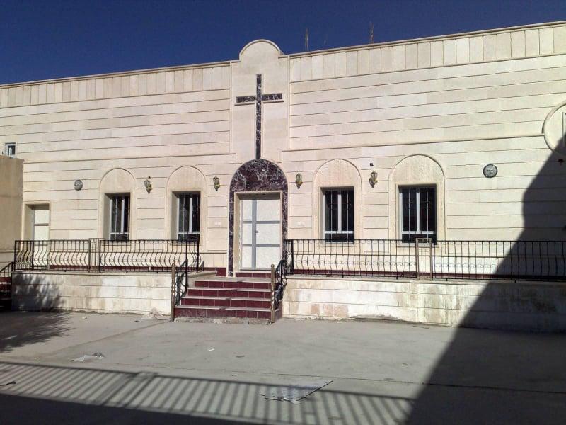 Şengal'deki kiliselerinden biri IŞİD tarafından tahrip edilmeden önce: Fotoğraf/ KirkukNow