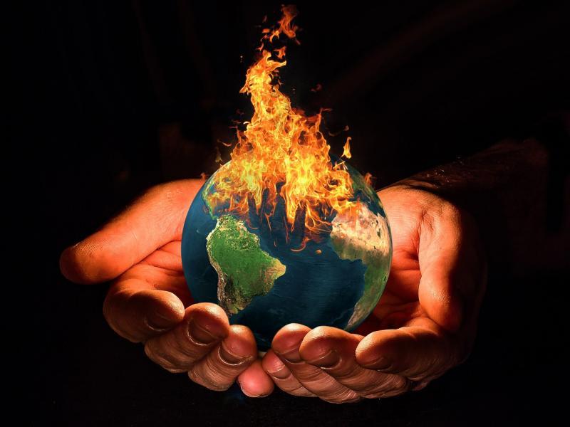 Küresel ısınma dünya yangın Pixabay.jpg