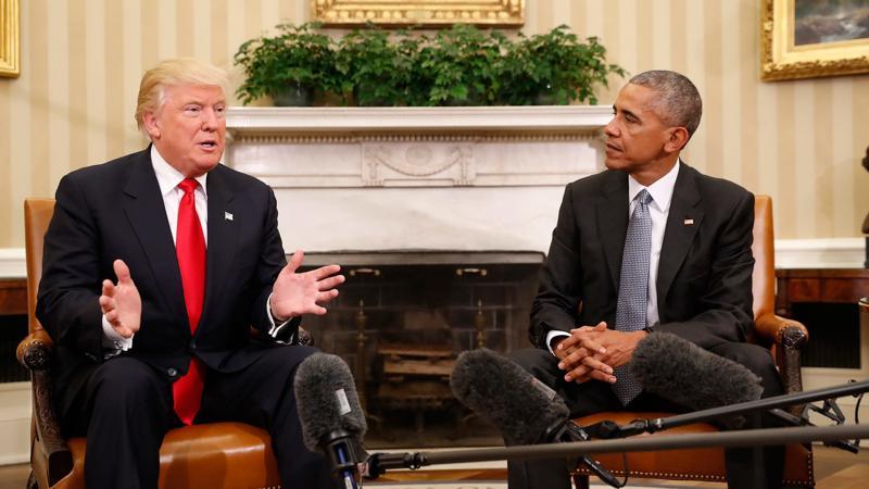 Barack Obama ve Donald Trump,  Arap Baharı sürecinde Libya ve Suriye'ye müdahale devreye girdi Pablo Martinez MonsivaisAP.jpg
