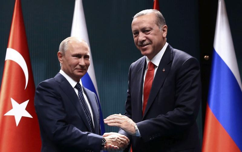 Putin-Erdoğan buluşması,  Türkiye Astana ve Soçi görüşmelerine Suriyeli muhaliflerin hamisi ve taraf ülke olarak katıldı.jpg