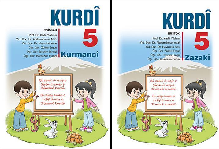 Kürtçe ders kitapları