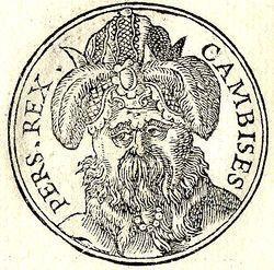 Pers Kralı II. Daryus, Mısır ile Filistin'i fethetmişti.jpg
