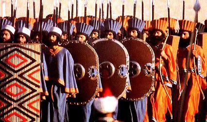 Şenlik merasiminde Ahamenid dönemi askeri kıtası.jpg