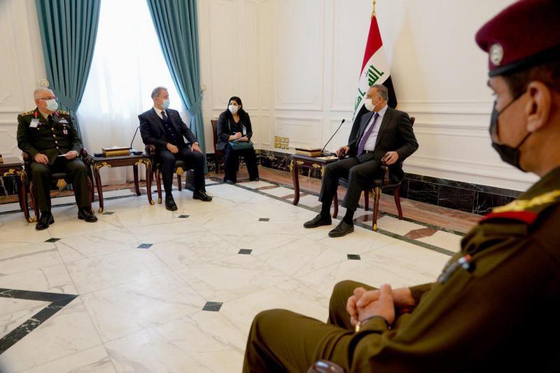 Irak Başbakanı Mustafa el-Kazımi Türk heyeti kabul etti