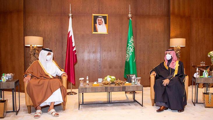 El Ula Zirvesi'nde Katar-Suudi Arabistan buluşması.jpg
