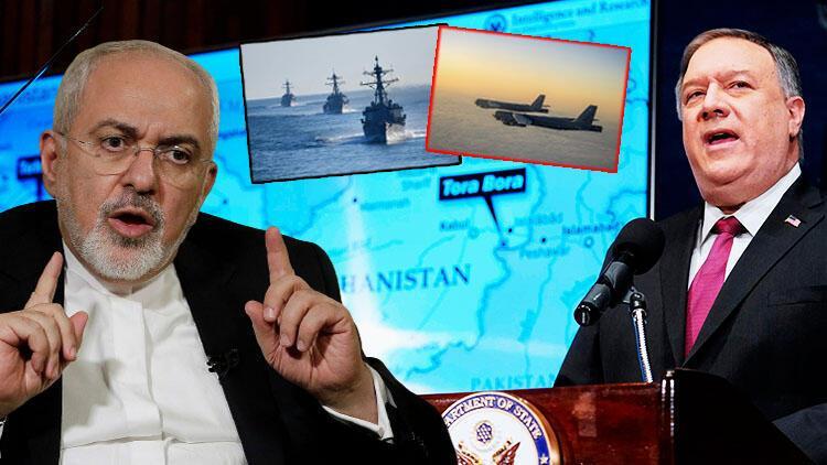 Eski ABD Dışişleri Bakanı Pompeo ile İranlı mevkidaşı M. Cevad Zarif arasında El Kaide-İran ilişkisi konulu söz düellosu .jpg