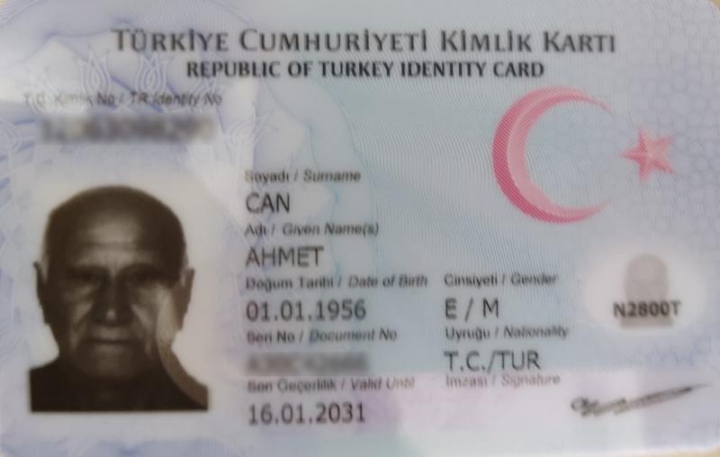 Ahmet Can kimliğine kavuştu