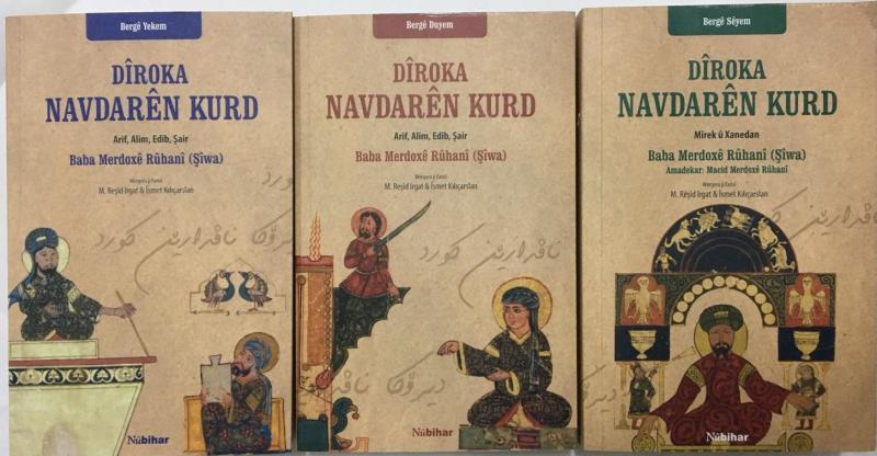 """""""Kürt Meşhurları Tarihi"""" kitabı Kürtçe'ye çevrildi"""