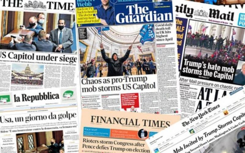 Dünya basınından Kongre baskını haber ve yorumları-Evrensel.jpg