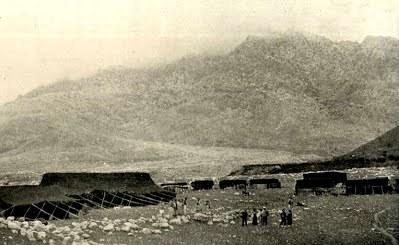Bir Caf oymağı, Şarizor mıntıkasında çadır kurmuş, yıl 1912-Kaynak- E. B. Soane.jpg