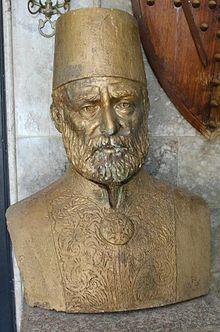 Caf aşiretinin reisi Muhammed Paşa büstü.JPG