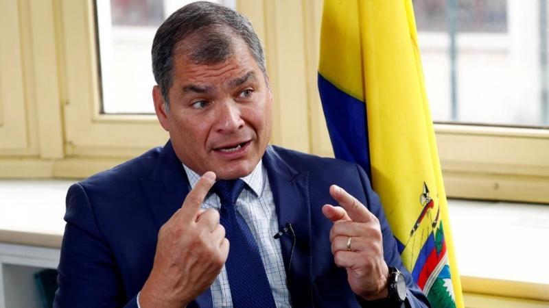 Ekvador'un eski başkanı Rafael Correa bugün kutuplaşan bir figürdür Francois Lenoir Reuters.jpg