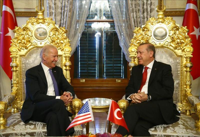 Joe Biden - Recep Tayyip Erdoğan