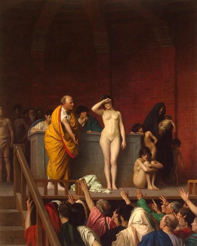 Antik Roma'da köle pazarı