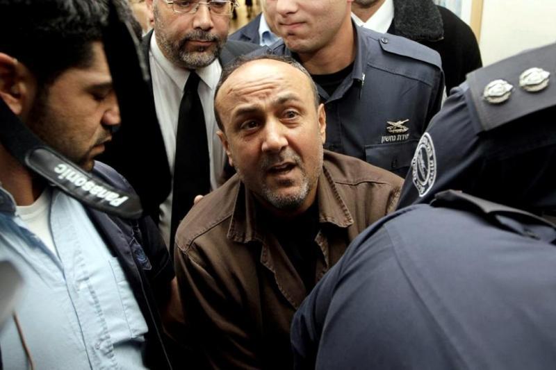 İsrail'de tutsak Barğusi'nin seçim meselesinde siyaset gündemine gelmesi, hem El Fetih örgütünü hem de ona rakip hareketleri tedirgin etti.  .jpg