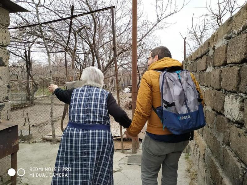 Zaruhi Gabagyan - 13 Mart 2019 - Eçmiyadzin, Ermenistan.jpg