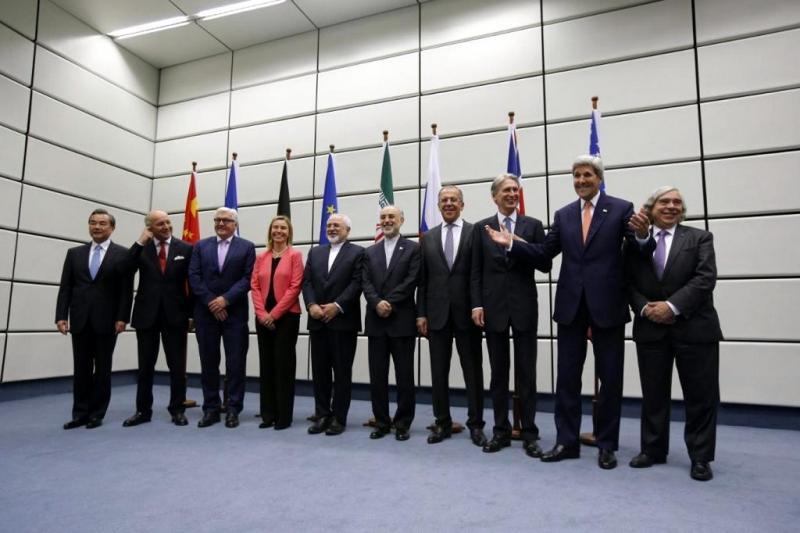 BM çatısı altında İran ile Nükleer Anlaşma imzalayan devlet temsilcileri, 4 Temmuz 2015-kaynak-AFP.jpg
