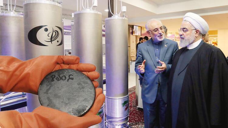 Hasan Ruhani ile Atom Enerjisi  Kurumu Başkanı A. Ekber Salihi, nükleer reaktör tesisinde.jpg