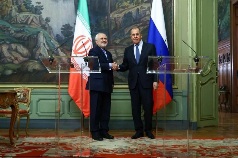 Rusya ve İran Dışişleri Bakanları, nükleer anlaşma izin yeniden masaya oturulması çağrısı yaptılar, Moskova.jpg