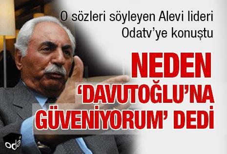 M.Timisi, Alevi sorununu çözeceğini vaadeden eski Başbakan Davutoğlu'nun sözüne güvendiğini söyleyince, bazı Alevilerden tepki almıştı-kaynak-OD.jpg
