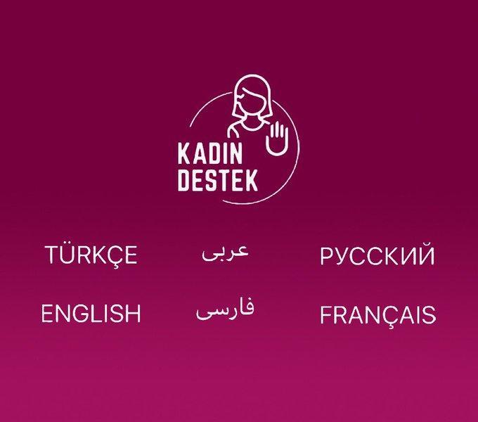 KADES uygulamasında Türkçe, Farsça, Arapça, İngilizce, Rusça ve Fransızca'ya yer verilirken, Kürtçe yer almadı