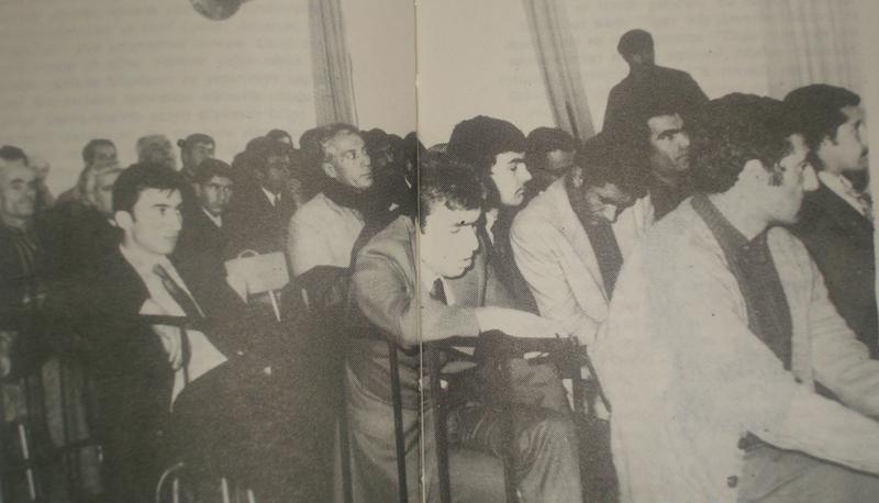 12 Mart 1972 darbesinden sonra Diyarbakır'da açılan DDKO davası... İsmail Beşikçi.jpg