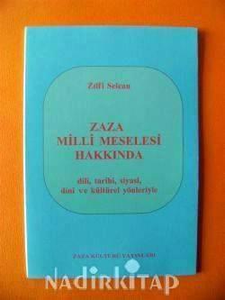Zilfi Selcan'nın Zazalar hakkındaki kitabının kapağı.jpg