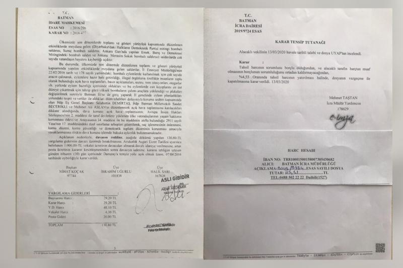 Dava belgeleri