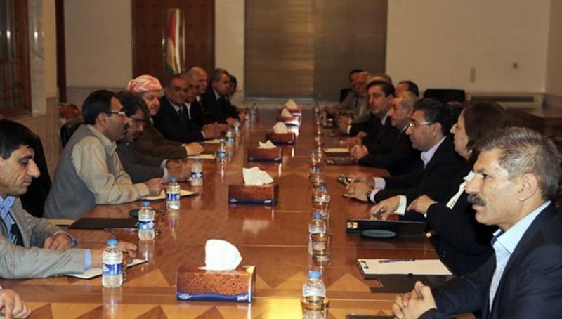 Duhok Anlaşması kapsamında bir araya gelen Kürt taraflar