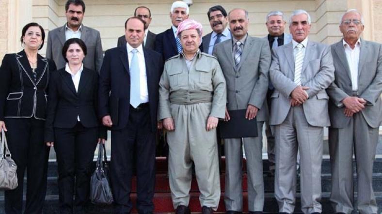 Taraflar 2014 yılında 'Kürtler arası birlik' için bir araya gelmişti