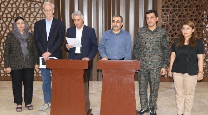 Birlik için biraraya gelen Suriyeli Kürt gruplar
