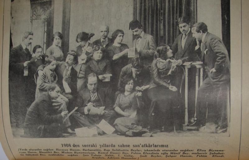 Refik Ahmet, Türk Tiyatrosu Tarihi, Kanaat Kütüphanesi, İstanbul 1934.jpg