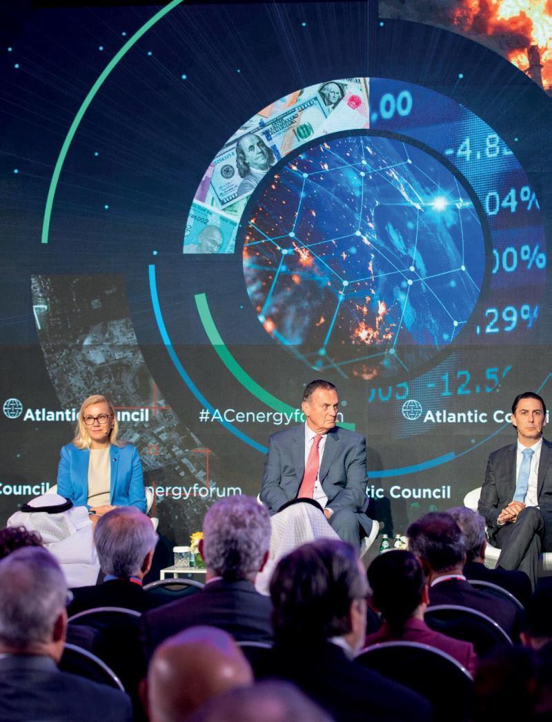Atlantic Council etkinlikleri kapsamında bir konferans..jpg