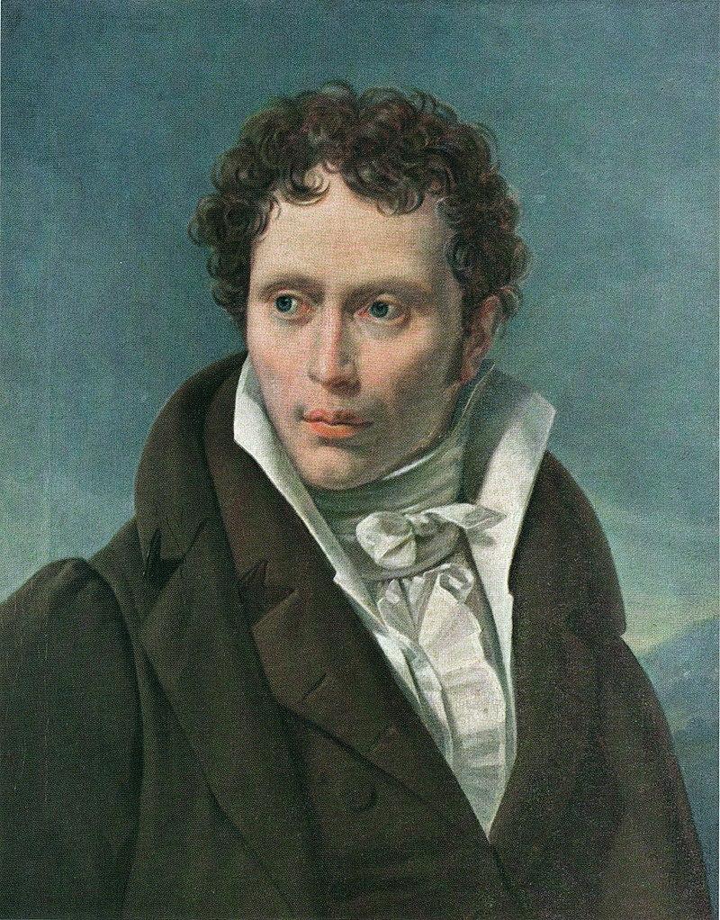 1815'de Arthur Schopenhauer, portre Ludwig Sigismund Ruhl.jpeg