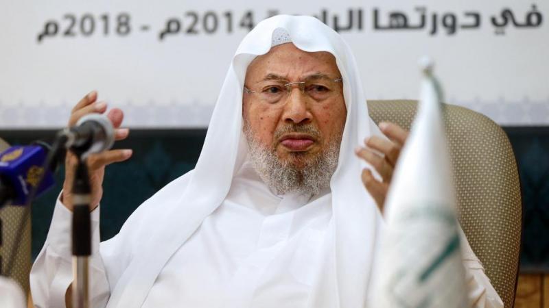 İhvan Hareketi'nin dünyaca ünlü simgesi ve ruhani lideri sayılan Y. El Qaradawi.jpg