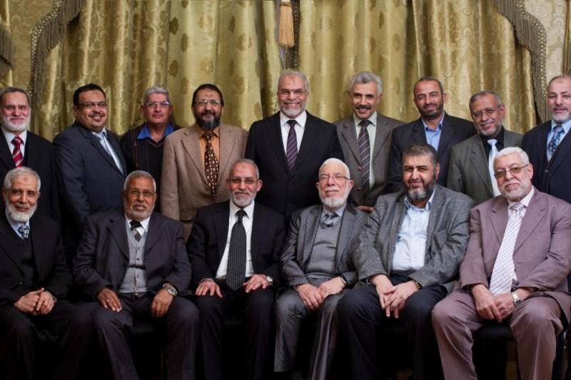 İhvan İrşad Bürosu üyelerinin son fotoğrafı-independent arabia.jpg