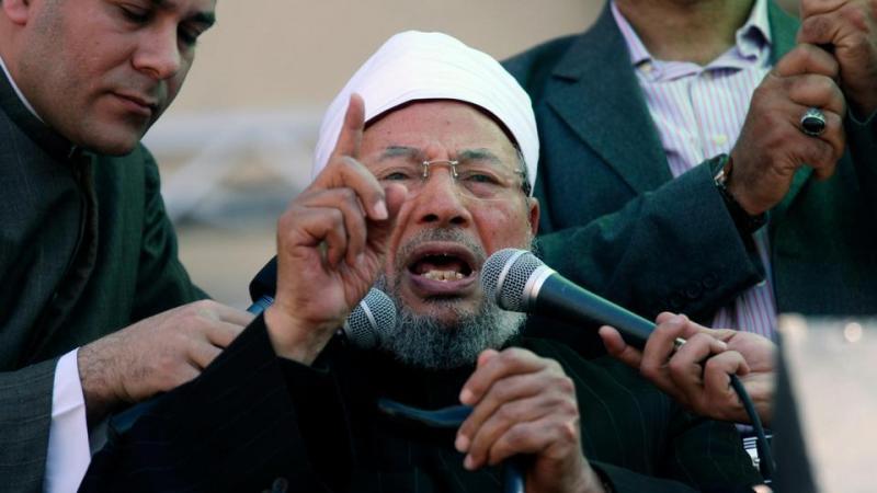 Interpol,  Y. El Qaradawi'nin Mısır'ın kırmızı bültenle arama duyurusunu, Aralık 2018'de iptal etti .jpg