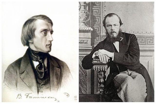 Vissarion Grigoryeviç Belinski ile Fyodor Dostoyevski.jpg