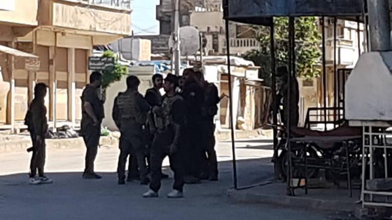 Kamışlı'da çatışma devam ediyor