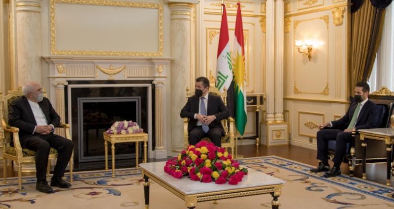 Muhammed Cevad Zarif - Mesrur Barzani Kubad Talabani