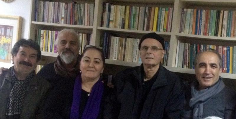 Soldan sağa Yunus Bircan, Tahsin Yeşildere, Nimet Tanrıkulu, Mehmet Servi ve Celalettin Can.JPG