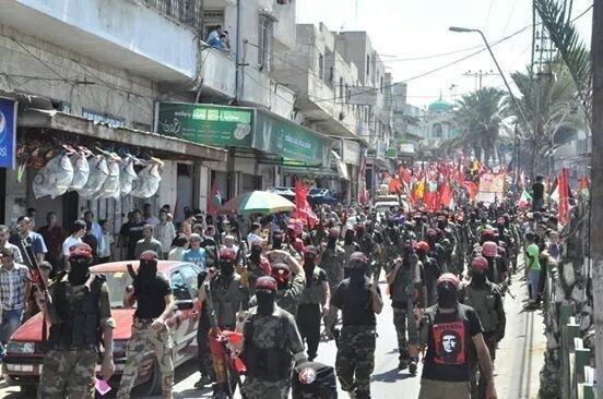 Filistin Halk Kurtuluş Cephe militanları Gazze'deki direnişe katıldılar.jpg