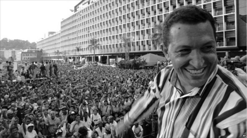 Hugo Chavez AP